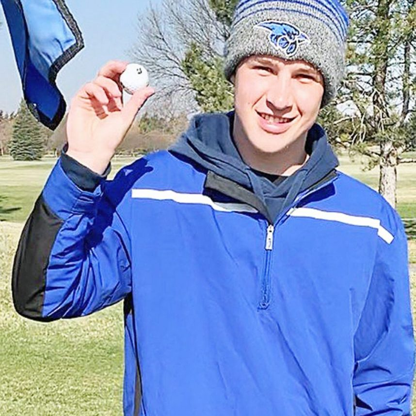 Tyler Race, a senior member of the Pierce High School boys' golf team scored a hole-in-one this past Friday morning, April 2. Race's shot came on hole number 3, a 154-yard, par 3, at the Pierce Community Golf Course during a practice round. He used a 7 iron, hitting into a stiff wind. Witnesses were Trevor Pettitt, Jacksen Wachholtz, and Boys' Golf Coach Rick Adams. Tyler is the son of Scott and Laurie Race.